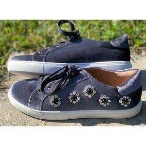 Aldo Thadolle velvet embellished sneaker Size 8.5